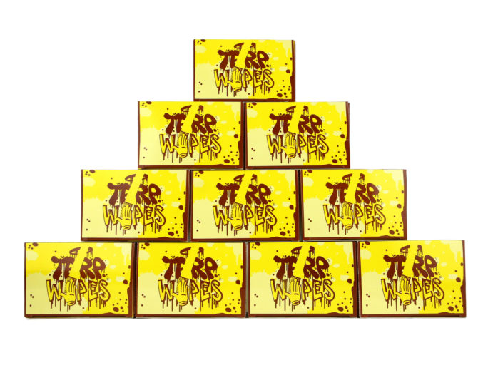 10 boxes of terpwipes